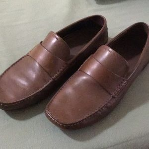 Banana Republic brown loafers